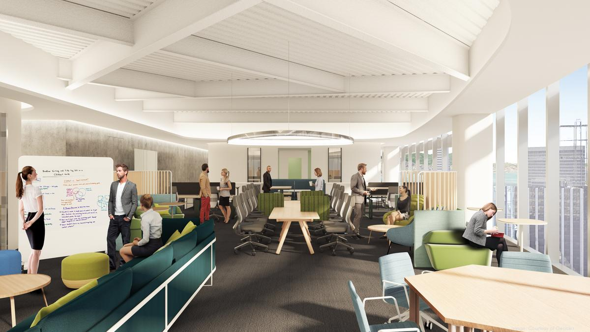 Exclusive how accenture is turning five floors in for Accenture london office