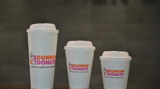 What do you think about Dunkin' Donuts cutting out its foam cups?