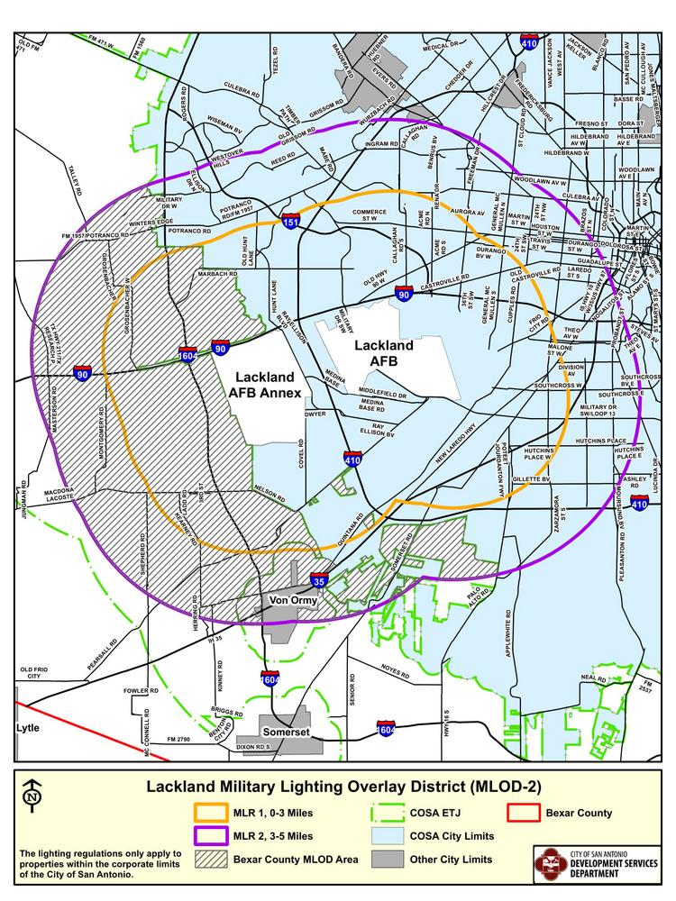 City of San Antonio new zoning code restricts new development ... Map Of Air Force Bases on map of pacaf, map of us bases, map of american bases, map of coast guard air stations, argentina military bases, map united states air force, strategic air command bases, map of tachikawa air base, map of air force academy colorado springs, map of army bases in the united states, map of manufacturing plants, map of military bases, map of all army bases, map of robins air base, map of usaf installations, map of national guard bases, map of air force installations, map of selfridge air base, map of hill air force, map of power stations,