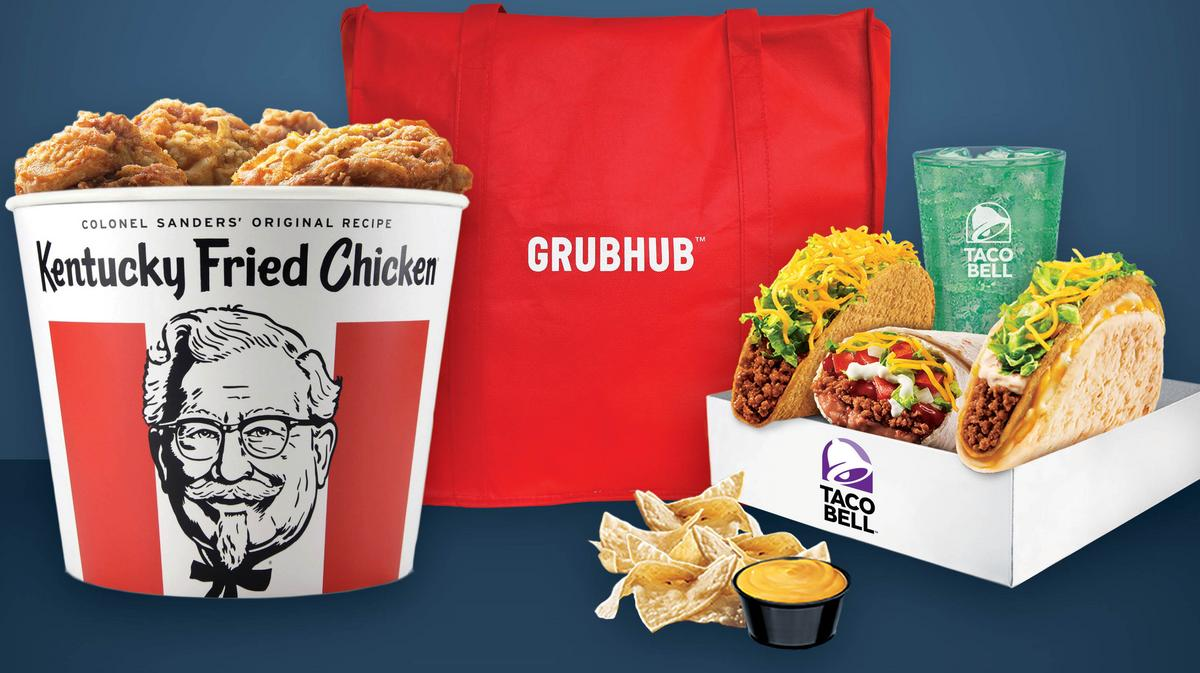 Yum Brands Invests In Grubhub Expands Kfc And Taco Bell Delivery