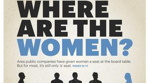 Cover story: Numbers are increasing, but public companies still slow to bring women on board