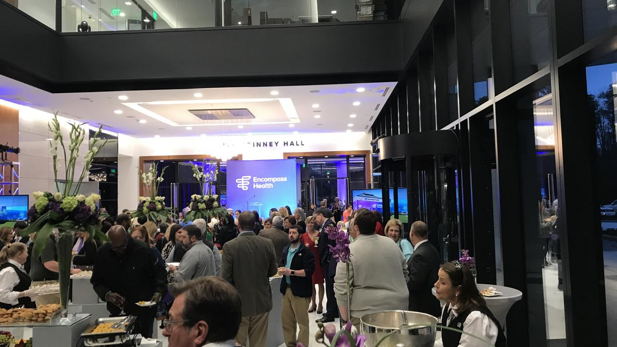 Encompass Health opens up part of headquarters, celebrates name