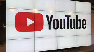 A YouTube sign in Manhattan's Chelsea neighborhood.