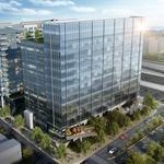 Developer to 'go spec' on $100 million Midtown office building (Renderings)