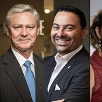 Three business leaders named finalists for SAWS board