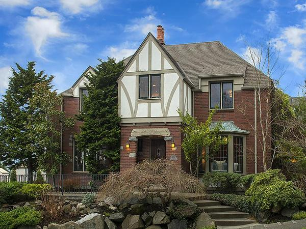 Home of the Day: Gracious Living in a Quintessential Magnolia Tudor on Glenmont