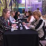 Women in business connect at Mentoring Monday