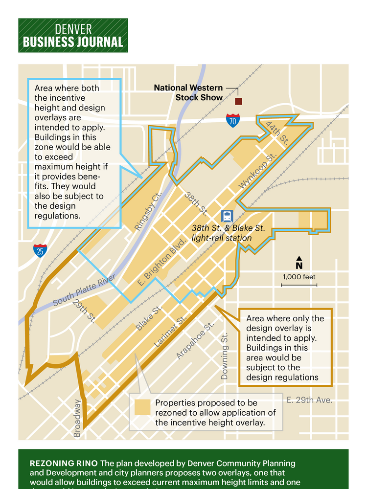 Parts Of Denver S Rino Could Get 16 Story Buildings Under Plan Ok D