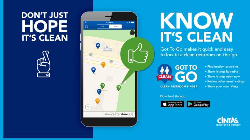 Cincinnati-based Cintas launches bathroom-finding app - Bizwomen
