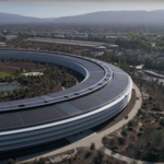 Latest Apple Park drone video shows near-complete 'spaceship' nestled in Cupertino