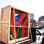 LOVE Park gets its sculpture back