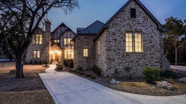Modern Tudor-Style Home with Meticulous Craftsmanship