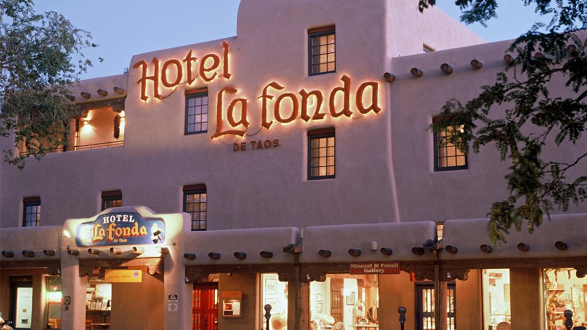 La fonda hotel website