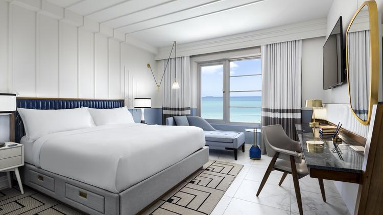Oceanfront Guest Room At Cadillac Hotel Beach Club