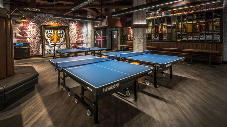 Awe Inspiring Spin Opens Table Tennis Social Club In Seattle Photos Download Free Architecture Designs Intelgarnamadebymaigaardcom