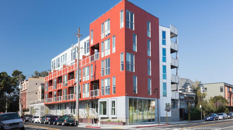 RAD Urban completed a 43-unit modular apartment building at 4801 Shattuck Ave. in Oakland .