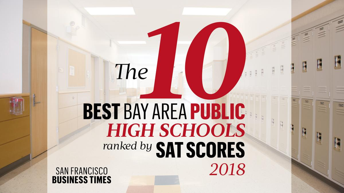 the 10 best bay area public high schools ranked by sat scores for