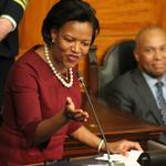 Forry's farewell a political gala with hints of her return