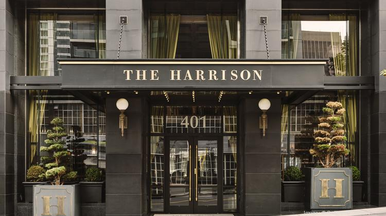 The Entrance To Harrison At 401 St In San Francisco A