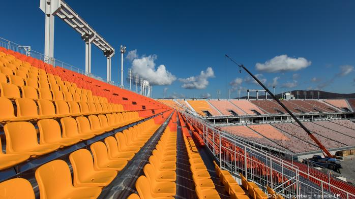 Olympic organizers say tickets are sold, but where are the people?