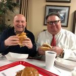 UNLOCKED: Fish Sandwich Chronicles: Brothers Dave and Tim Hammer at Wholey's