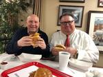 Fish Sandwich Chronicles: Brothers Dave and Tim Hammer at Wholey's