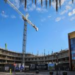 Photos: Big Santana Row office project on track to open in part this year without a tenant in tow