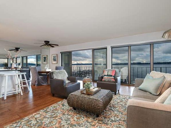 Home of the Day: Waterfront Living in Kirkland with 180 Degree Unobstructed Views of Lake Washington