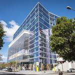 Brightline's South Florida train stop gets new office building (Photos)