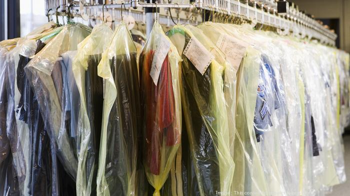 Clothing at Dry Cleaners