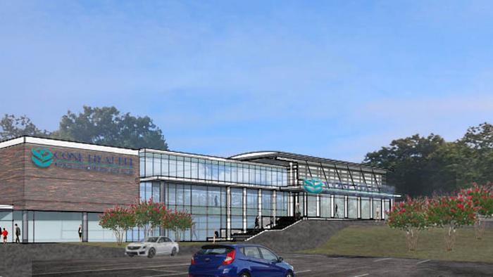 A Triad health provider is looking to build a $23.5 million medical facility, which would house an emergency department and imaging services.