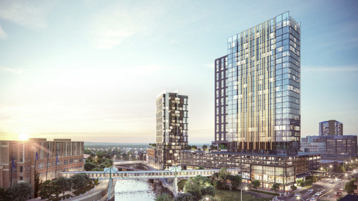 Rochester approves $180M towers project on riverfront