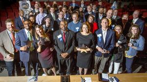 A blast: Scenes from the 40 Leaders Under Forty of 2018
