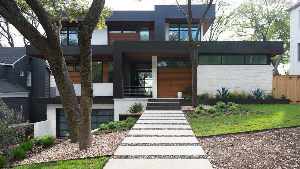 photos see sleek residences on display at 2018 austin modern home tour austin business journal. Black Bedroom Furniture Sets. Home Design Ideas