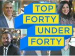 Get to know the 2018 Top 40 Under 40