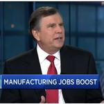 Emerson's David Farr on investments in manufacturing and infrastructure