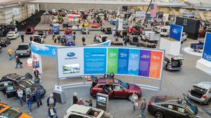Photos from the 2018 Pittsburgh International Auto Show and charity event
