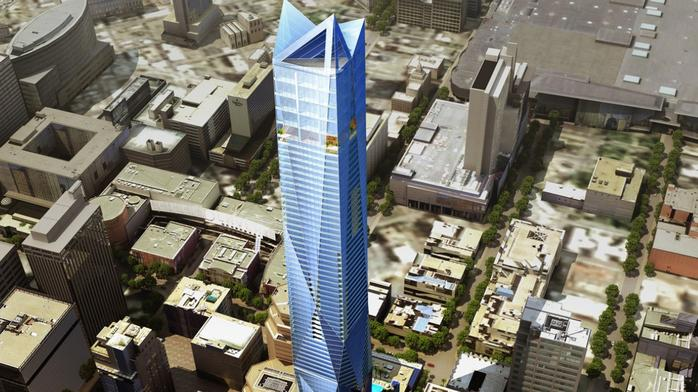 Super skyscraper in downtown Denver? Developer files concept documents for 81-story tower (Video)