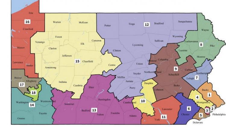 Pa. Supreme Court decides state\'s new district map - Philadelphia ...