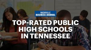 Check out Middle Tennessee's best public high schools of 2018