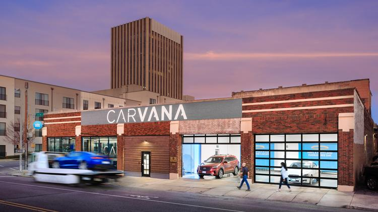 Carvana launches in Huntsville and Montgomery, Alabama and