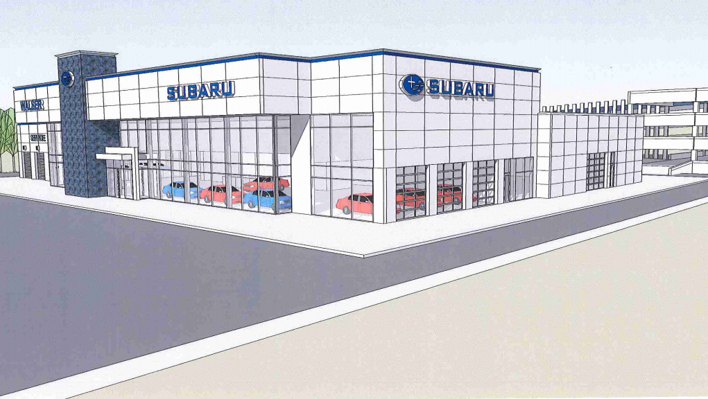 Walser automotive relocating burnsville subaru as it adds for Honda dealership burnsville mn