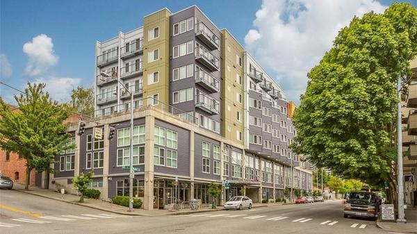 Sound View Condo in the Heart of Belltown