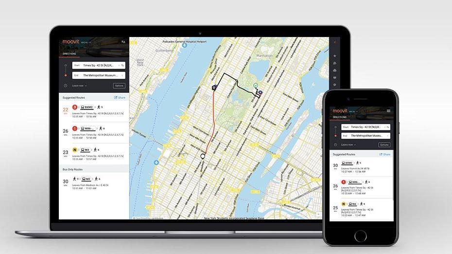 Intel Corp  helps public transit app Moovit raise $50M, plans