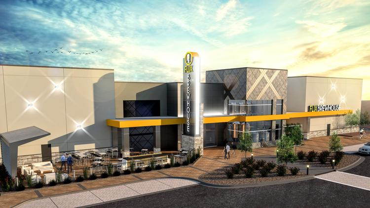 Flix Brewhouse U2014 Which Combines A Movie Theater With A Dine In Microbrewery  U2014 Is