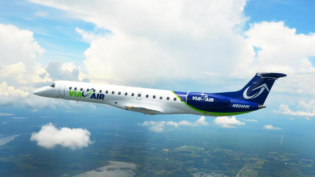 Via Airlines to return to charter business, Bham no longer a focus city