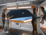 Disney shares peek at Star Wars hotel, X-wing headed to theme park