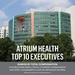 What did Atrium Health's top execs earn last year?