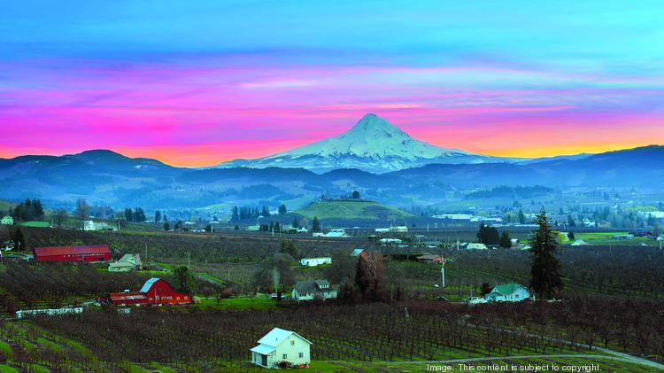 Hood River Is Entrenched In The Top 10 Places To Retire Oregon According