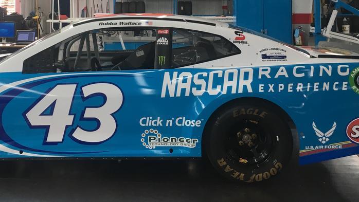Central Ohio mover E.E. Ward sponsoring Nascar driver Bubba Wallace